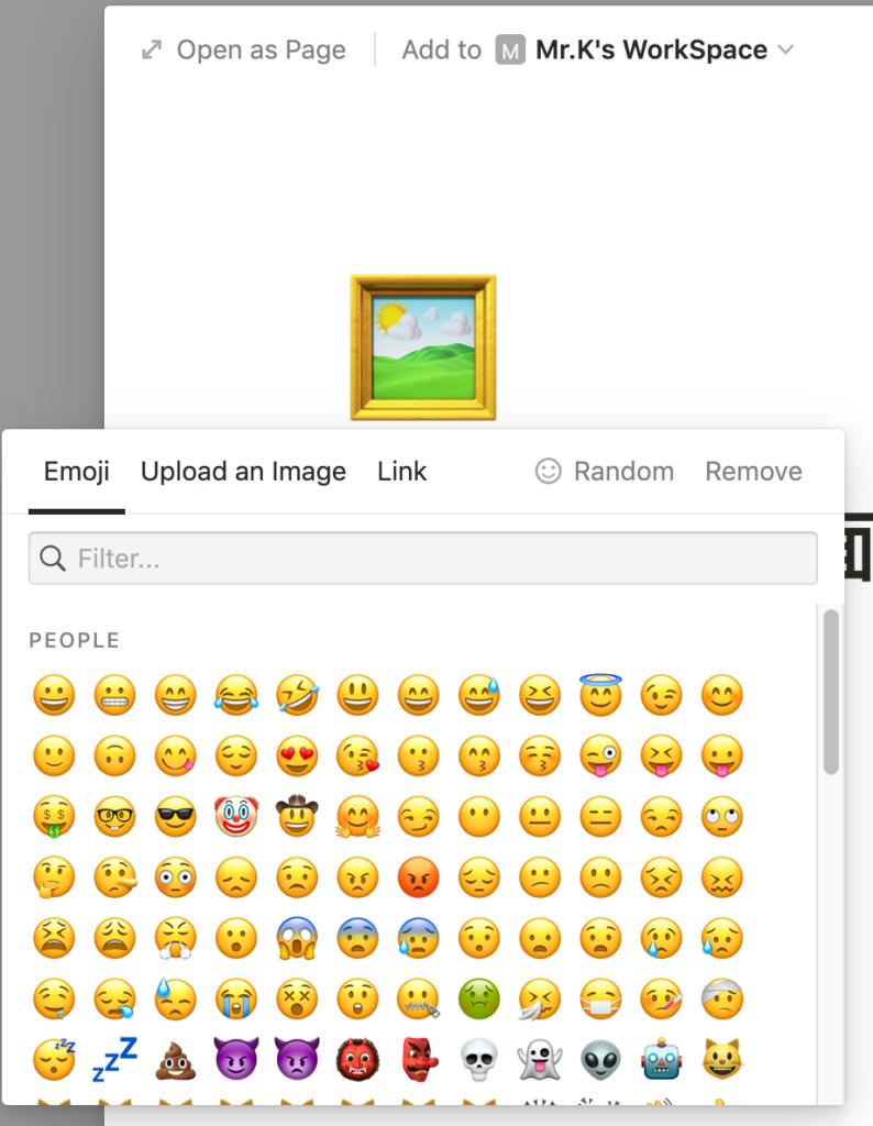 選擇Icon畫面
