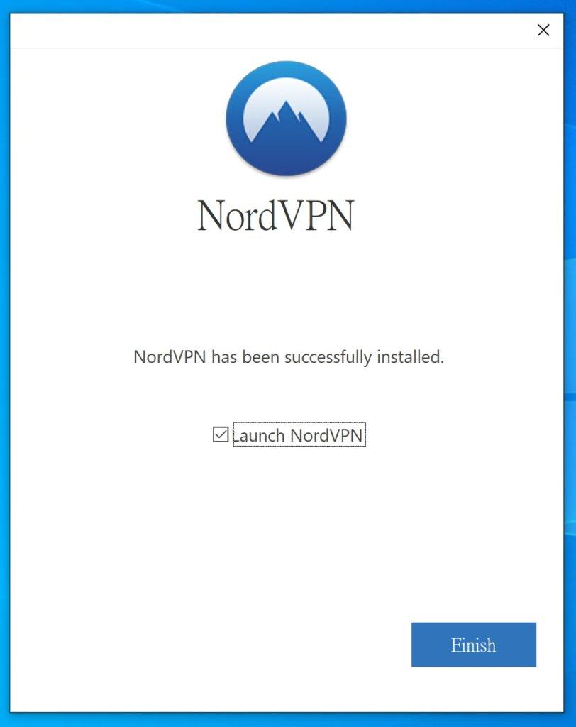 「NordVPN評價」Windows使用教學-安裝完成後啟動NordVPN