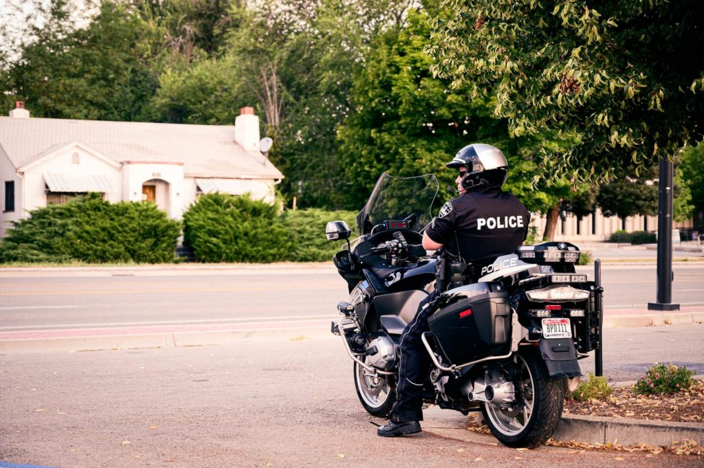 警察示意圖