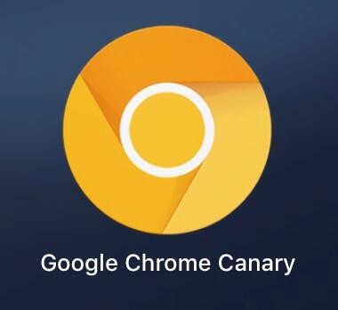 Google Chrome Canary 軟體 Logo