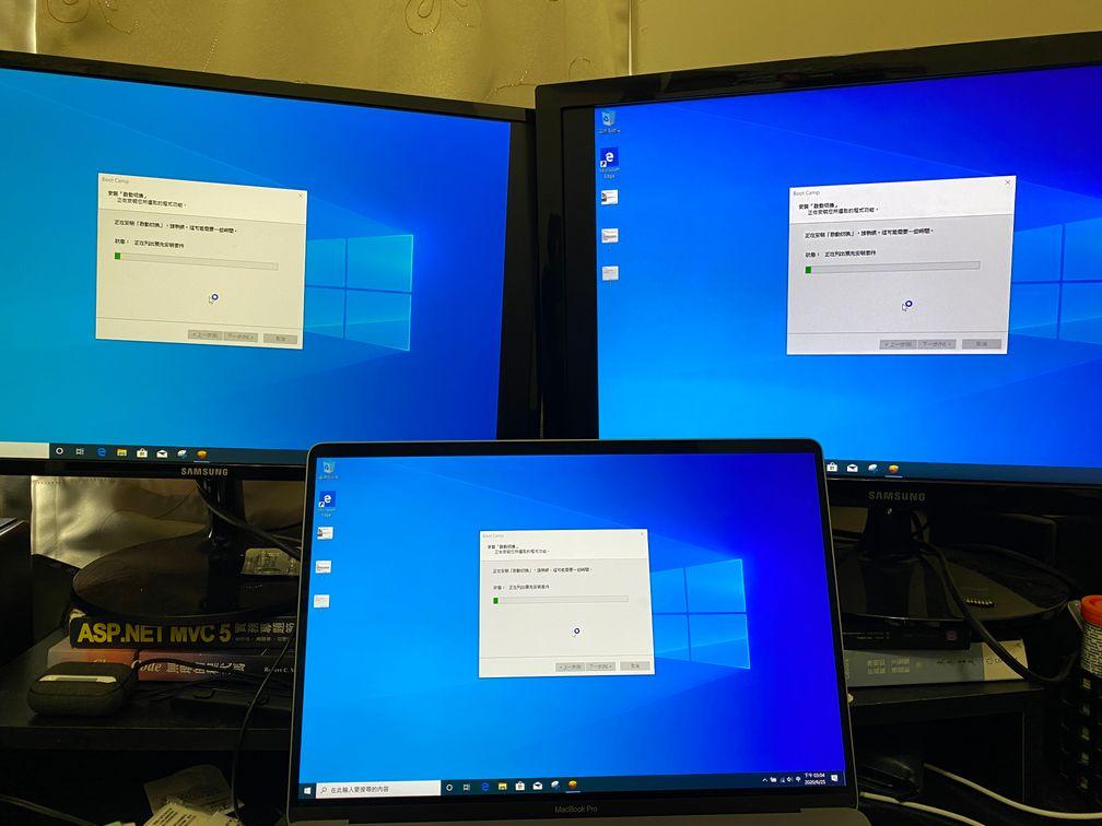 安裝驅動程式後,外接螢幕等功能就可以正常使用了